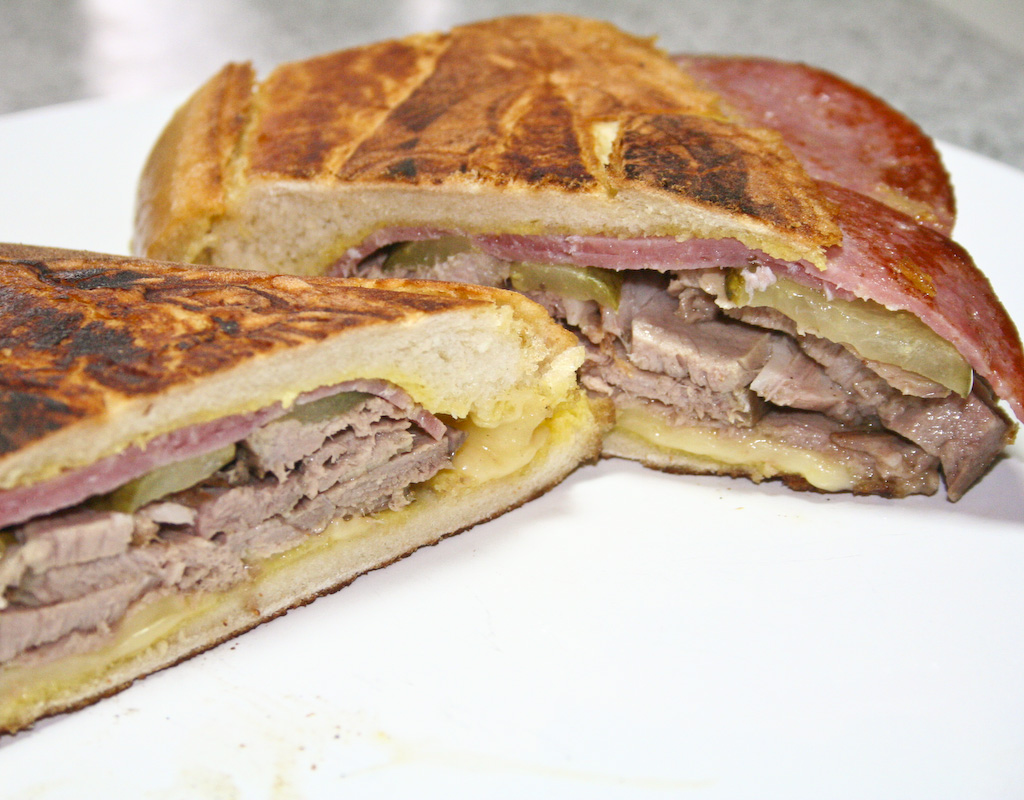 ... , easy-to-follow Food Network Cuban Sandwich recipe from Alton Brown